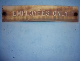 employee sign
