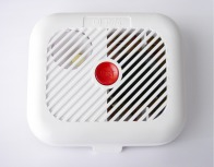 smoke alarm with battery