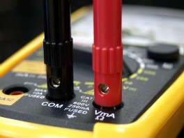 voltmeter wired security systems