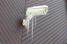 camera in ice