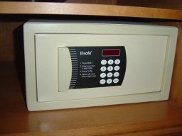 hotel fire proof safe